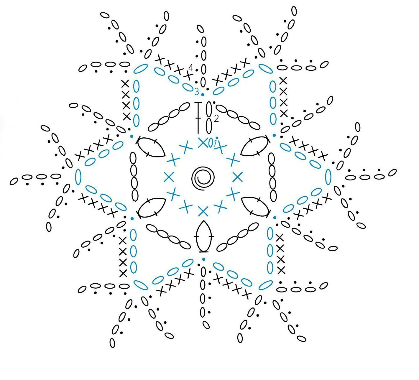 Pin de Petra en häckeln Winter | Pinterest
