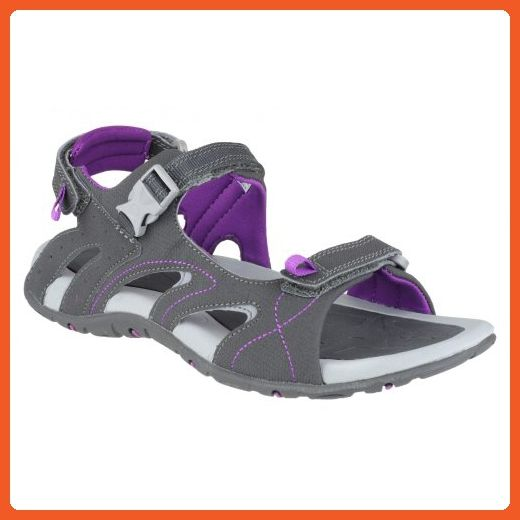 aff62ba28dda Hi-Tec Ladies Indra Strap Sandal   Womens Sandals (6 US) (Charcoal) -  Outdoor shoes for women ( Amazon Partner-Link)
