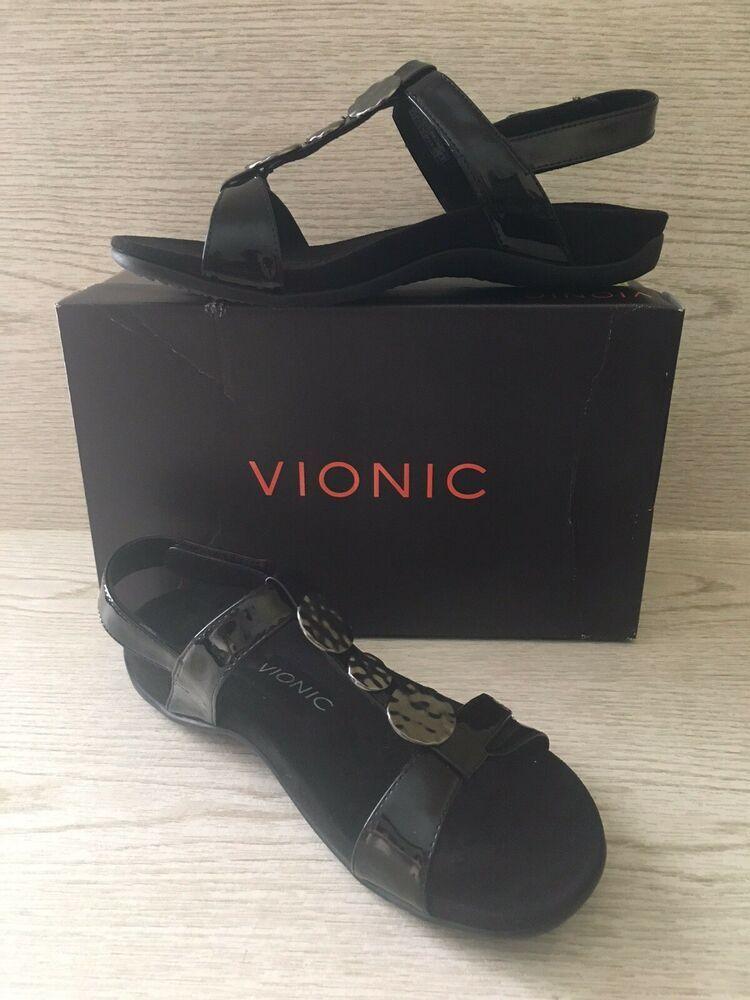 0b294f174c Vionic Womens Rest Farra Backstrap Sandals Black 8.5 Medium Orthopedic  $89.95 | eBay