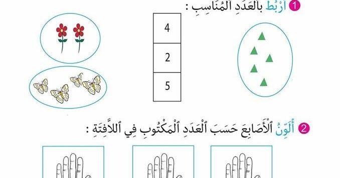 تمارين للمراجعة للسنة أولى ابتدائي الجيل الثاني Math 5 Math Generation