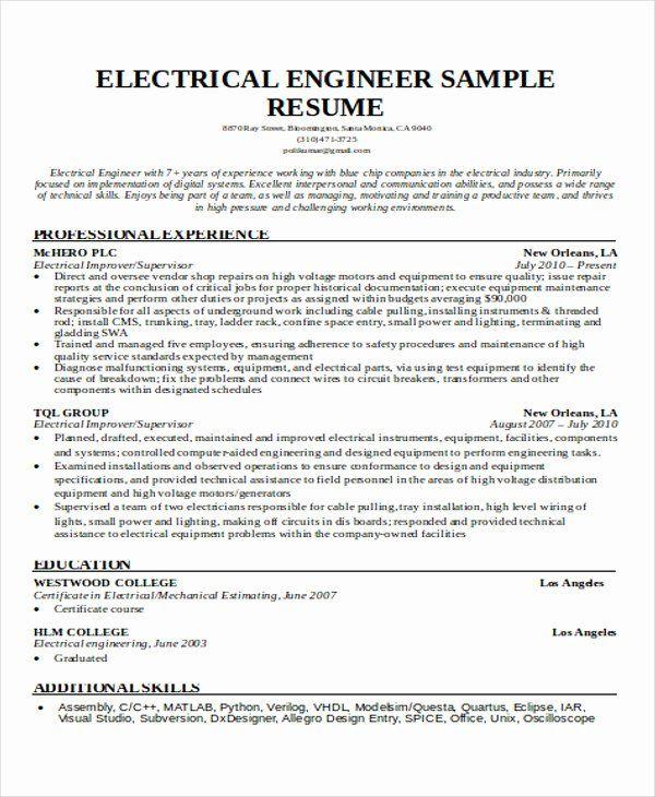 engineering student resume examples lovely 55 engineering