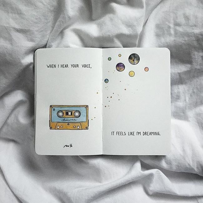 Over 20 notepad illustrations by Ana Ye that draws a picture every month - Artistic Blog - 20+ notepad illustrations by Ana Ye, the ...#ana #artistic #blog #draws #every #illustrations #month #notepad #picture
