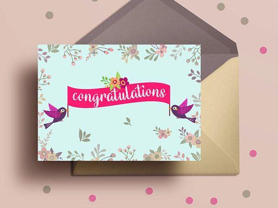 Congratulations cardprintable greeting cardwedding cardnew home congratulations greeting card print printable greeting card new home congrats pregnancy congratulations card m4hsunfo