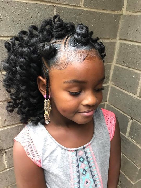 Pin By Marie Joseph On Children Style Girls Hairstyles