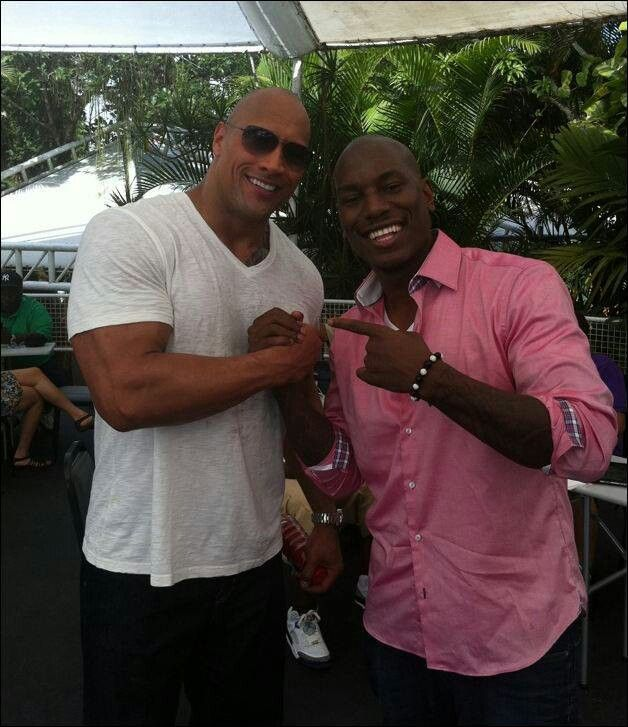 Dwayne Johnson & Tyrese Gibson