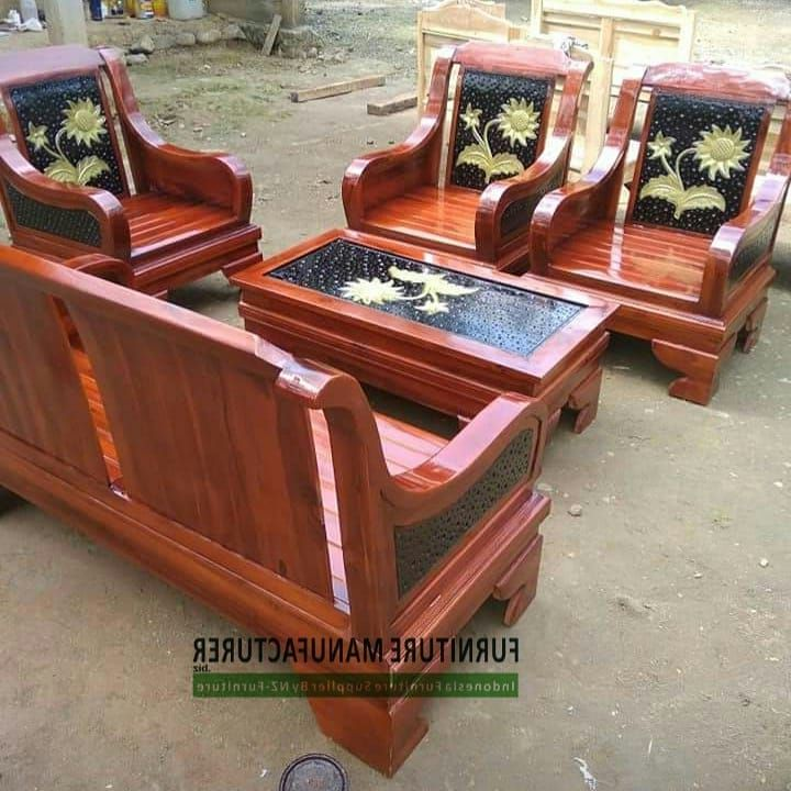 Teak Ant Living Chair Jepara Traditional Design, Very