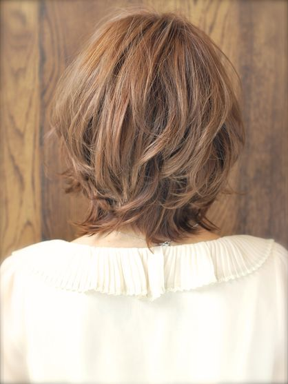 人気のショートボブ パーマスタイル Afloat Japanのヘアスタイル