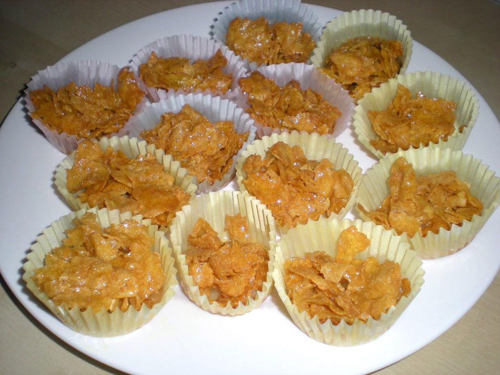 تحضير حلوى حلي بالكورن فلكس Sweet With Corn Flex Fodmap Recipes Food Desserts
