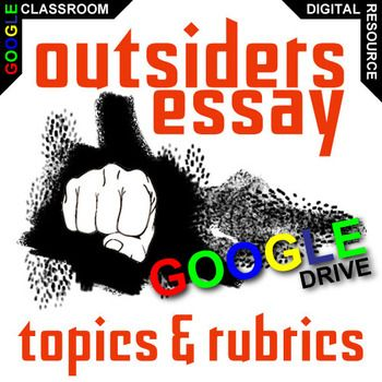 Comparison Contrast Essay Example Paper The Outsiders Essay Topics Will Get Learners Engaging With Meaningful  Topics The Novel Raises Response To Literature  Need For Community  Narrative  Thesis Statement Narrative Essay also Thesis Statements Examples For Argumentative Essays The Outsiders Essay Prompts And Speech W Grading Rubrics Created  Healthcare Essay Topics