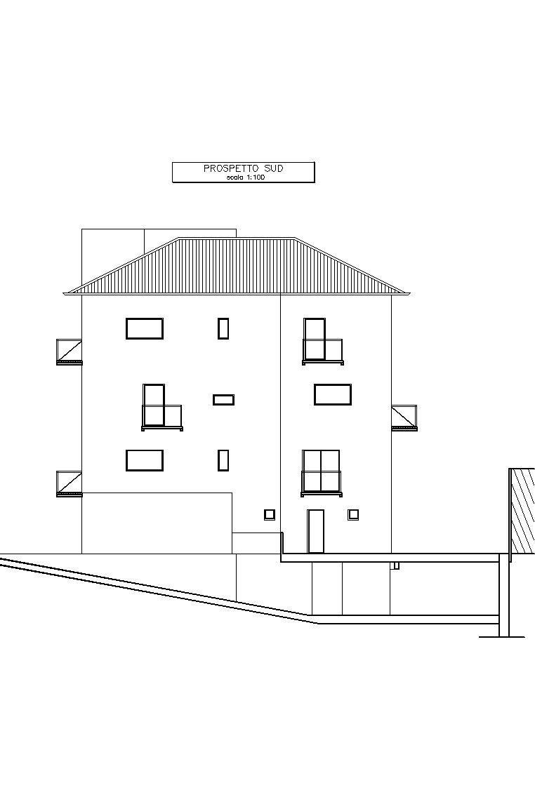 Progetto per nuova costruzione di CONDOMINIO a Sesto San Giovanni (MI) - by Studio di Architettura Roberto Carlando. Piazza Monte Falterona n°11 Milano - 20148 Italy. Phone +39.02.48713840 studio@robertocarlando.com ; www.robertocarlando.com