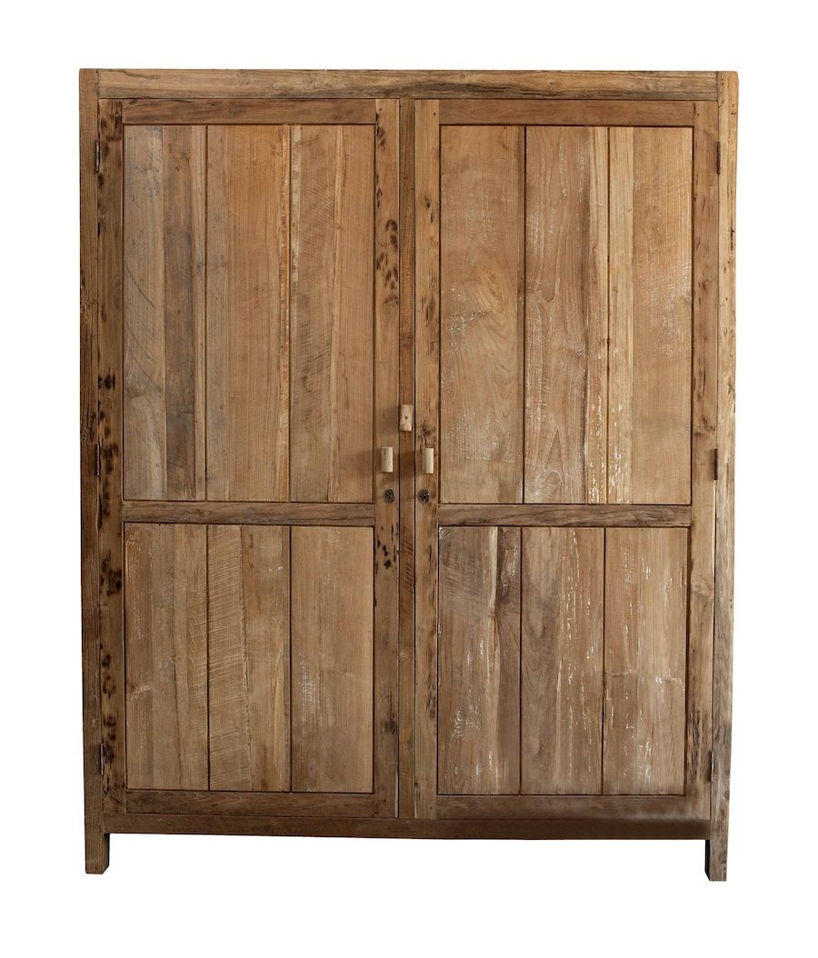 Hk Living Szafa Cupboard Xl Teak Wardrobe For Home Kast