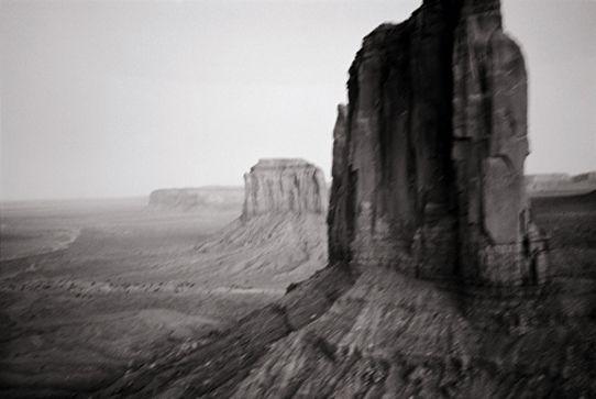 Annie Leibovitz (American, b. 1949). Monument Valley, 1993. Photograph © Annie Leibovitz. Courtesy of Condé Nast Traveller. From Annie Leibovitz: A Photographer's Life, 1990–2005