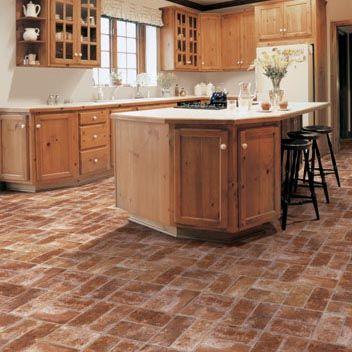 Kitchen Flooring Idea  Benchmark  Cataniamannington Vinyl Classy Vinyl Flooring Kitchen Review