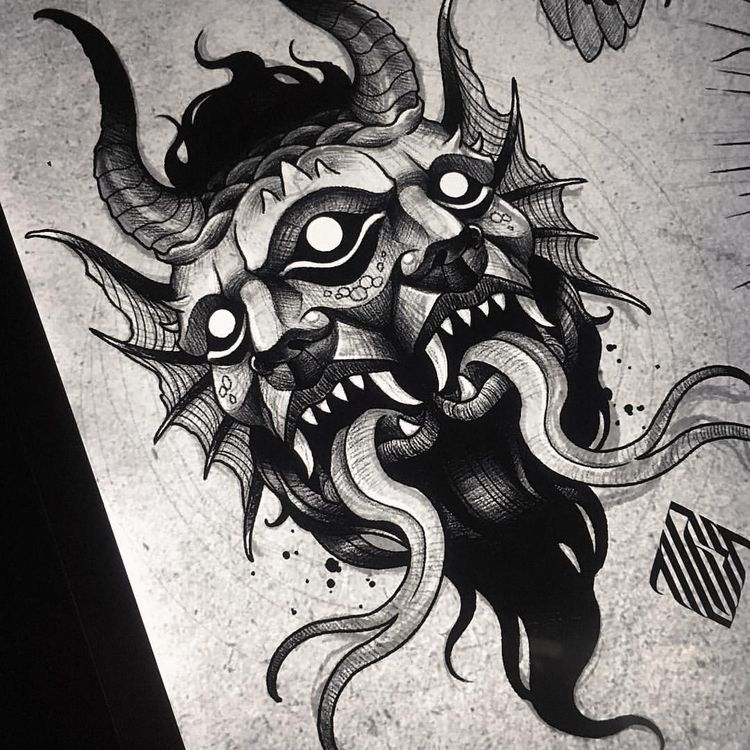 Pin De Lordedits En Tattoo T A T U I R O V K I Tatuaje De Horror Tatuajes Satanicos Tatuajes De Setas