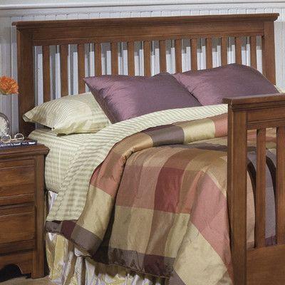 Carolina Furniture Works, Inc. Crossroads Slat Headboard Size: Queen