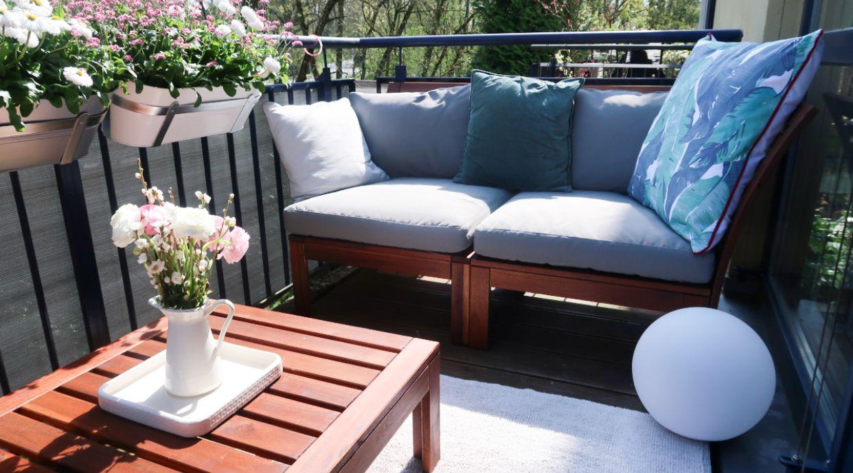Balkonliebe Ikeadeutschland Ikea Balkon Balkonpflanzen Balkonmobel Ikeahack Outdoor Decor Outdoor Sofa Home