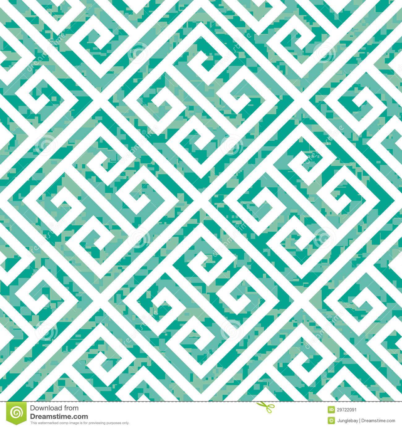 Temporary Fabric Wallpaper Modern Pattern Vectors Image Seamless Greek Key