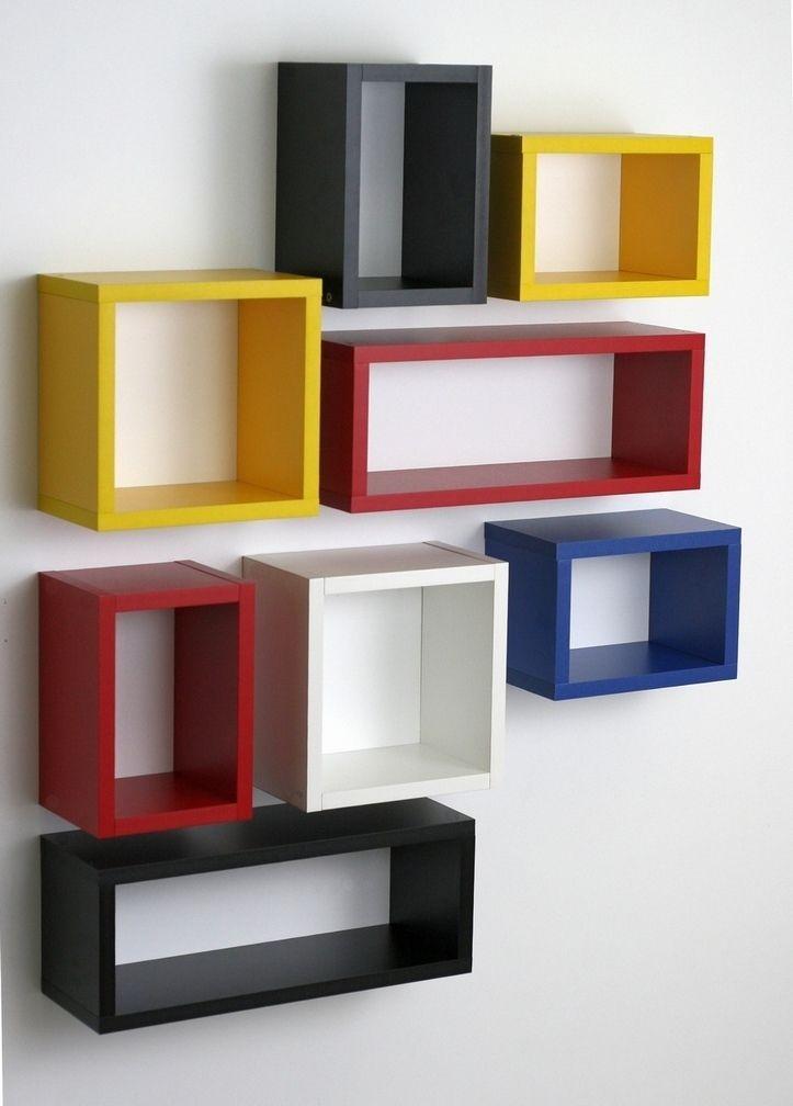 Dodatkowe Półki wiszące na ścianę - regał PUZLE agamiro.pl | Półki BN99