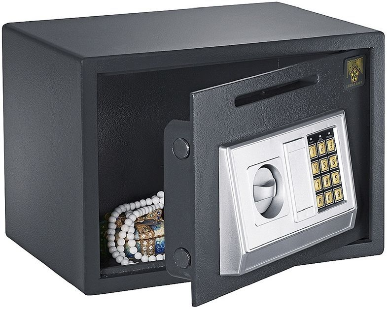Money safe with slot deposit box for home office work