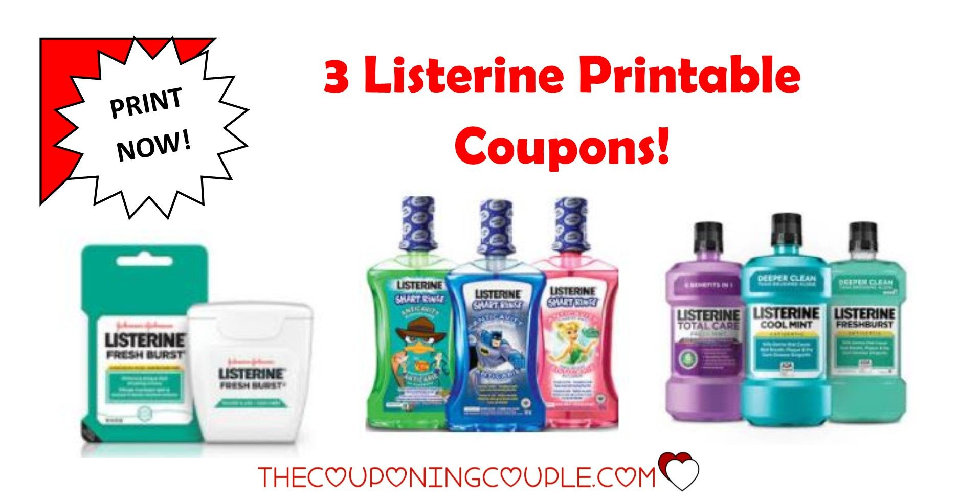 image relating to Listerine Coupons Printable referred to as 3 Contemporary Listerine Printable Coupon codes ~ $3 inside Financial savings! Print By now