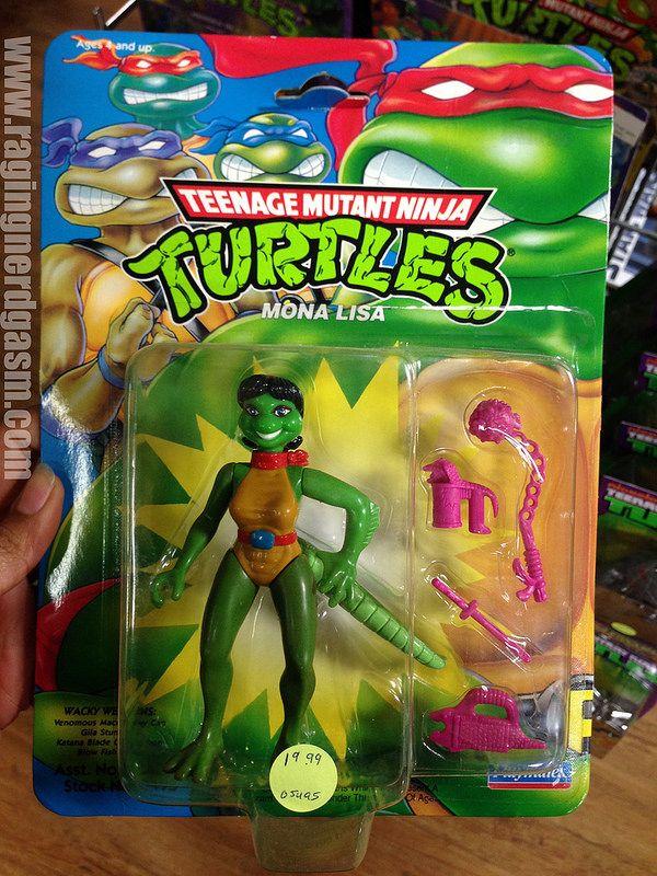 Ninja Toys For Girls : Tmnt teenage mutant ninja turtles by playmates carded mona