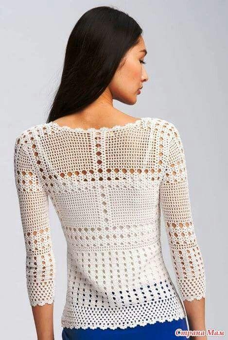 Pin de sole cali en sweaters | Pinterest | Camisas y Ganchillo