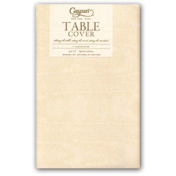 Genial Caspari Moire Ivory Table Cover   9 9717TCP Ivory Table Cover: Caspari  Tablecovers With
