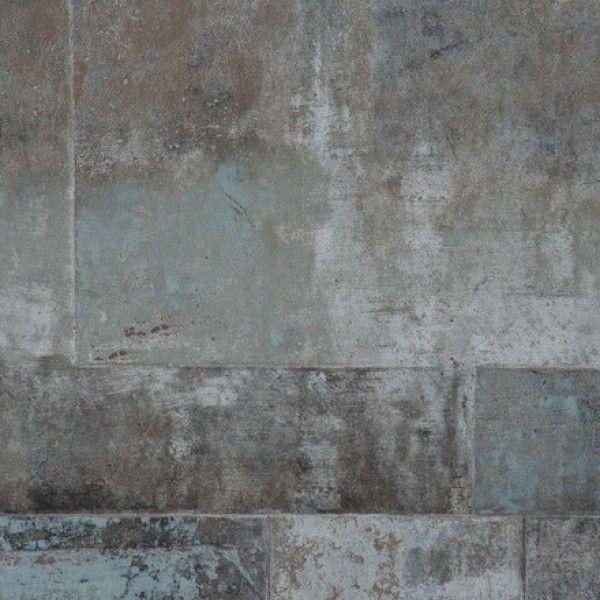 Concrete Block Dark Industrial Look Wallpaper Concrete Wallpaper Textured Wallpaper Industrial Wallpaper