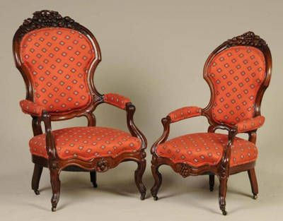 Victorian Upholstered Chairs - Victorian Furniture Price Guide Victorian & 19th C. ~ Furnishings