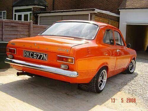 Orange Mexico Car Ford Ford Rs Retro Cars