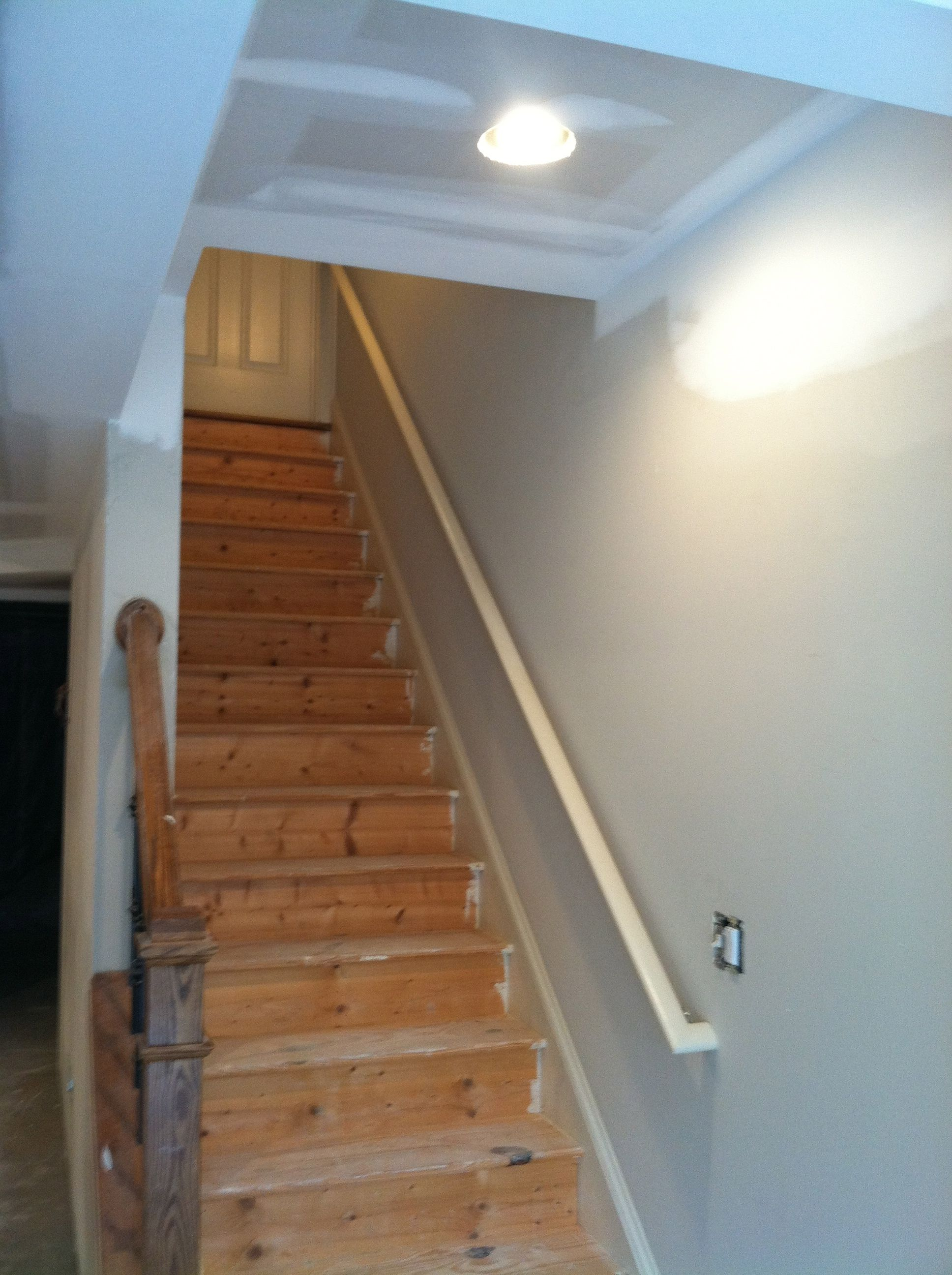 Best Stairs Before Staining Commercial Remodeling Garage 640 x 480