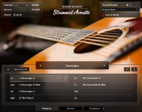 Native Instruments Session Guitarist Strummed Acoustic Based On Patterns Strum Guitar Strum Library Sampled Vintage Guitar Strumming Guitarist Acoustic