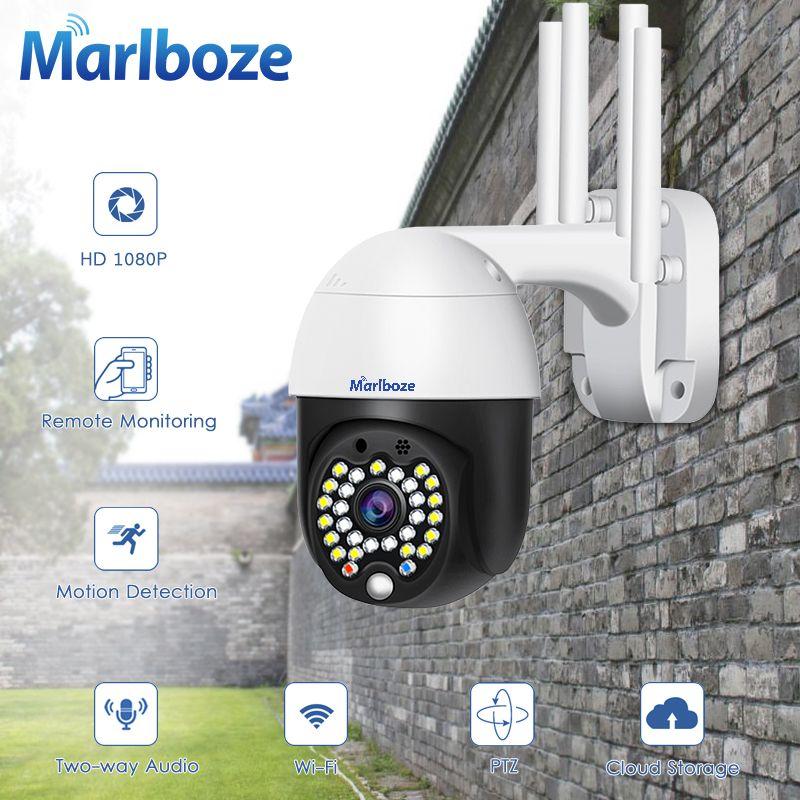 1080p Outdoor Wifi Ptz Ip Camera 4x Zoom 2mp Ip Camera Security Waterproof Cctv Camera Ycc365 App Cctv Camera Ip Camera Surveillance Cameras