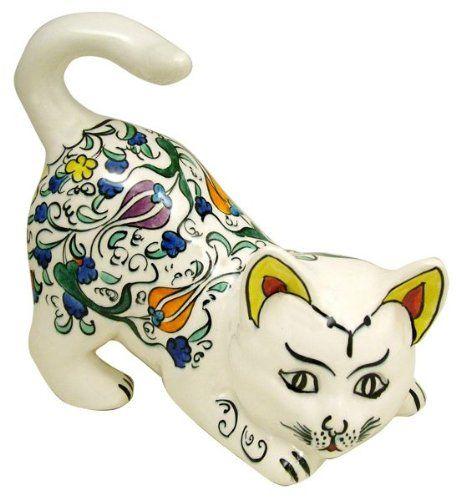 Cini Knick Knack Curious Cat