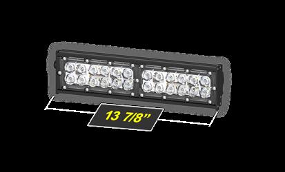 Model 4120 Beastbar Light Bar Flat Surface Mounted 24 Leds 13 7 8 Long Bar Lighting Off Road Light Bar Light