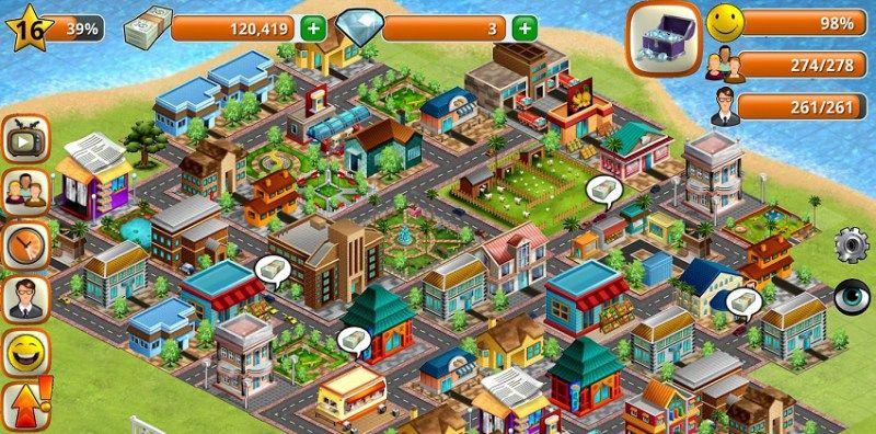 Stadt Bau Spiele Kostenlos