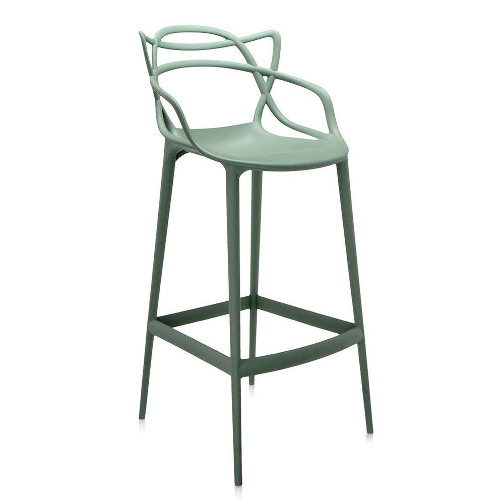 Kartell Barhocker masters stool green 75cm masters and stools