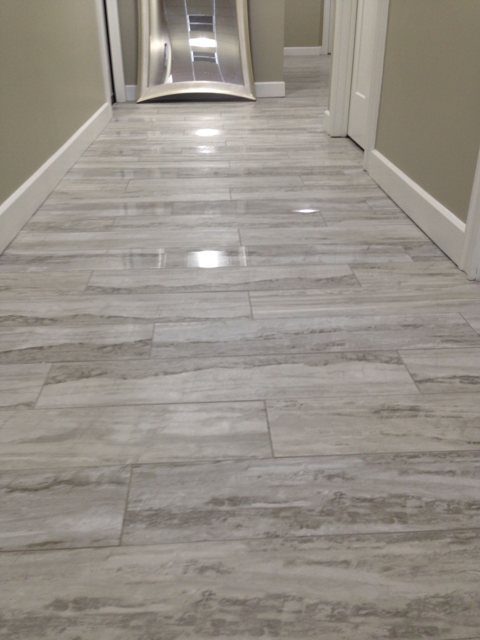 Daltile River Marble Rm92 Silver Spring 8x36 Polished