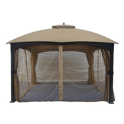 Allen Roth Gazebo Tpgaz17 002n Replacement Insect Net For 10 Ft