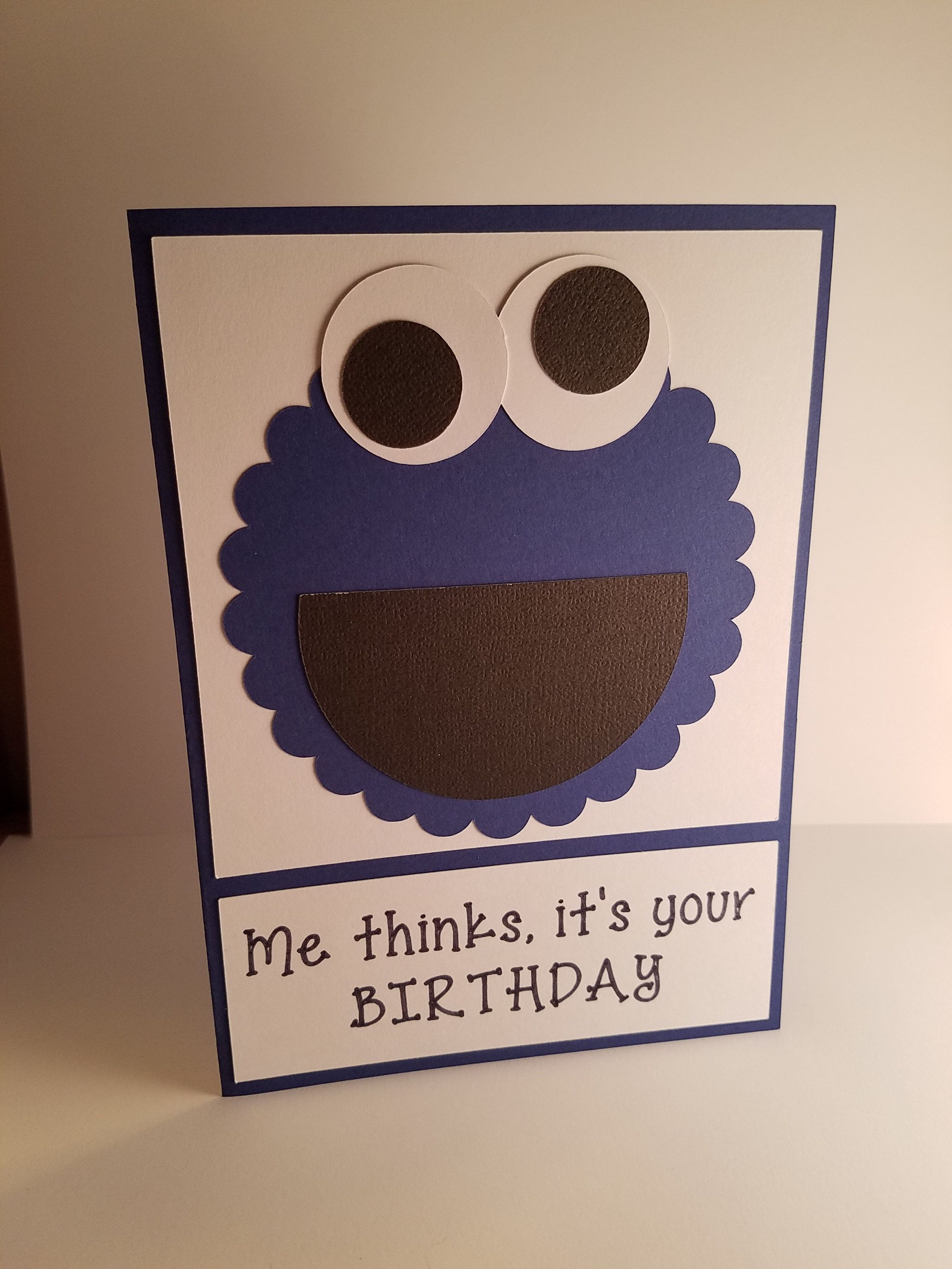Cookie Monster Birthday Card by OlingerOriginals on Etsy ...