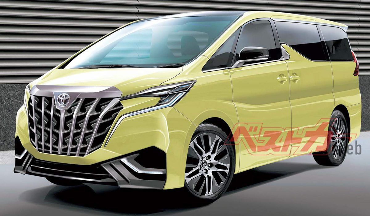 2021 Toyota Alphard Research New