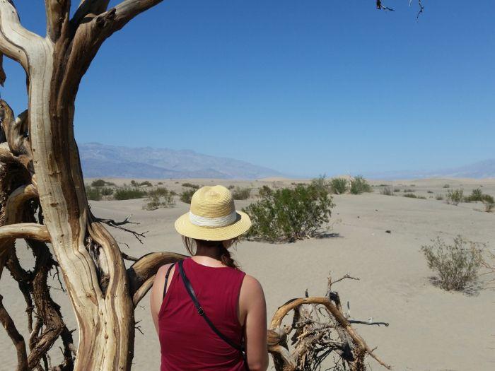 Mesquite Flat Sand Dunes, Death Valley, USA #roadtrip