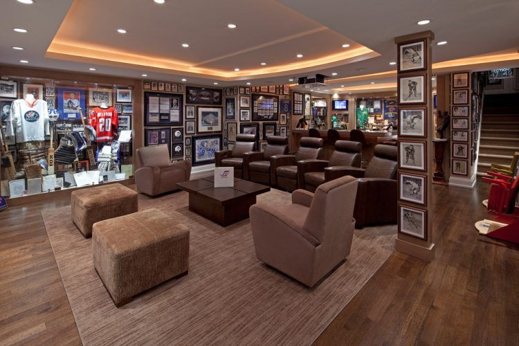 Man Cave Hockey Room : This new york rangers man cave might top the list photos elite