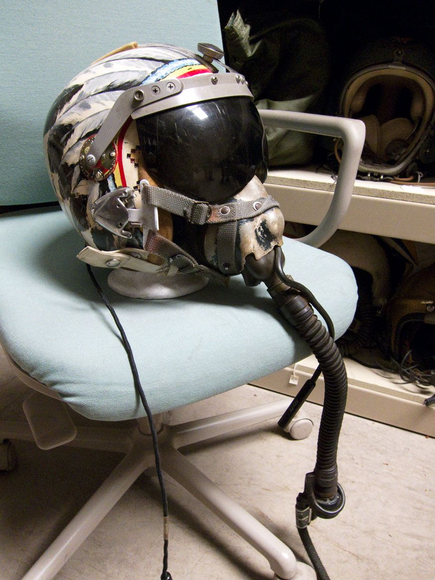 Air Force Helicopter Pilot Helmet