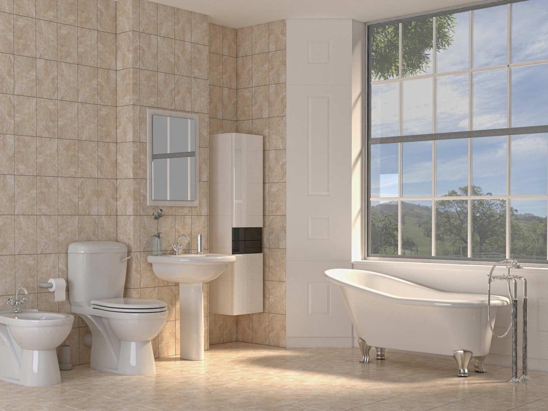 Protea Beige Floor Tile | CTM | Blue tile wall, Ceramic ...