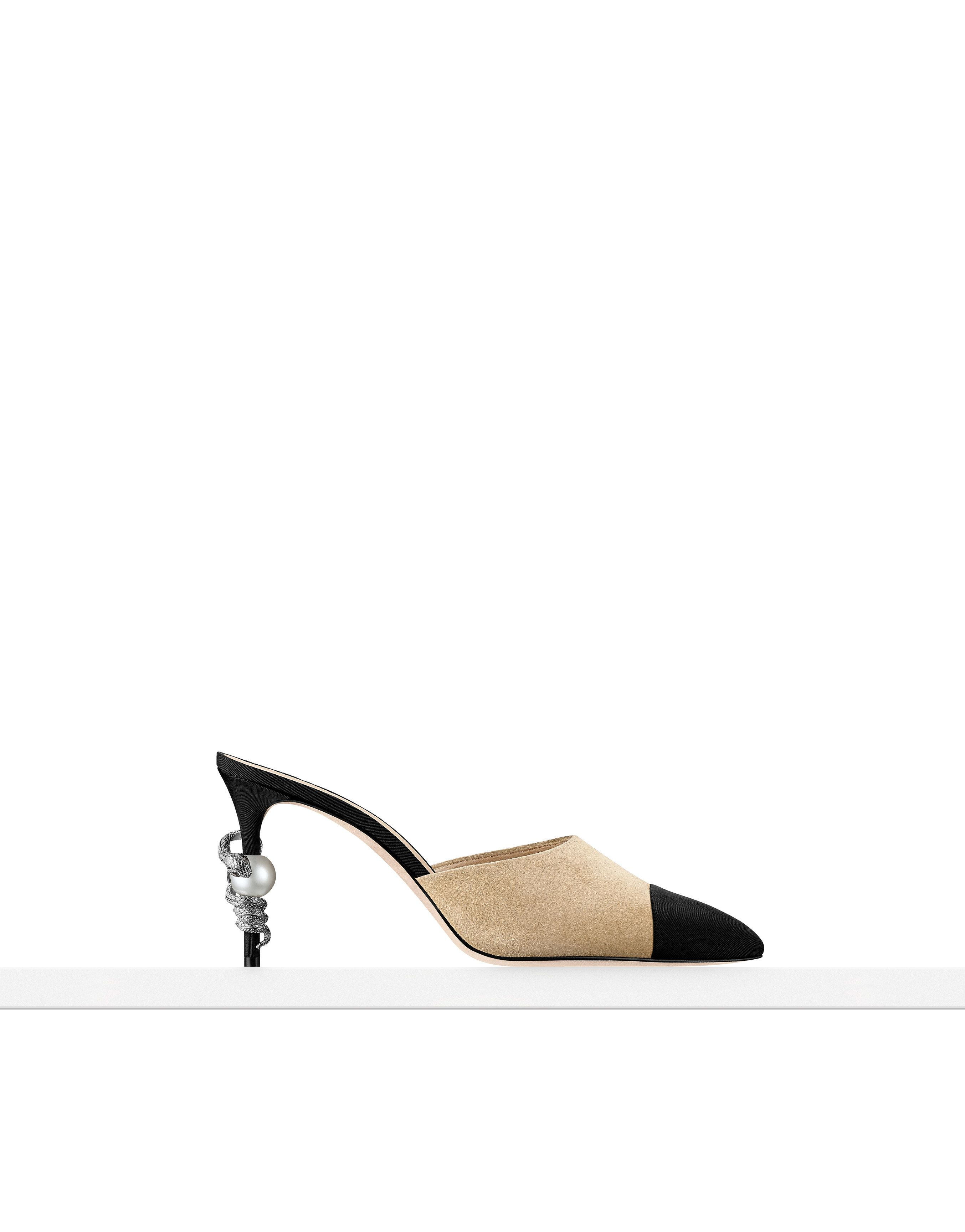 Chanel fashion, Chanel mules, Chanel shoes