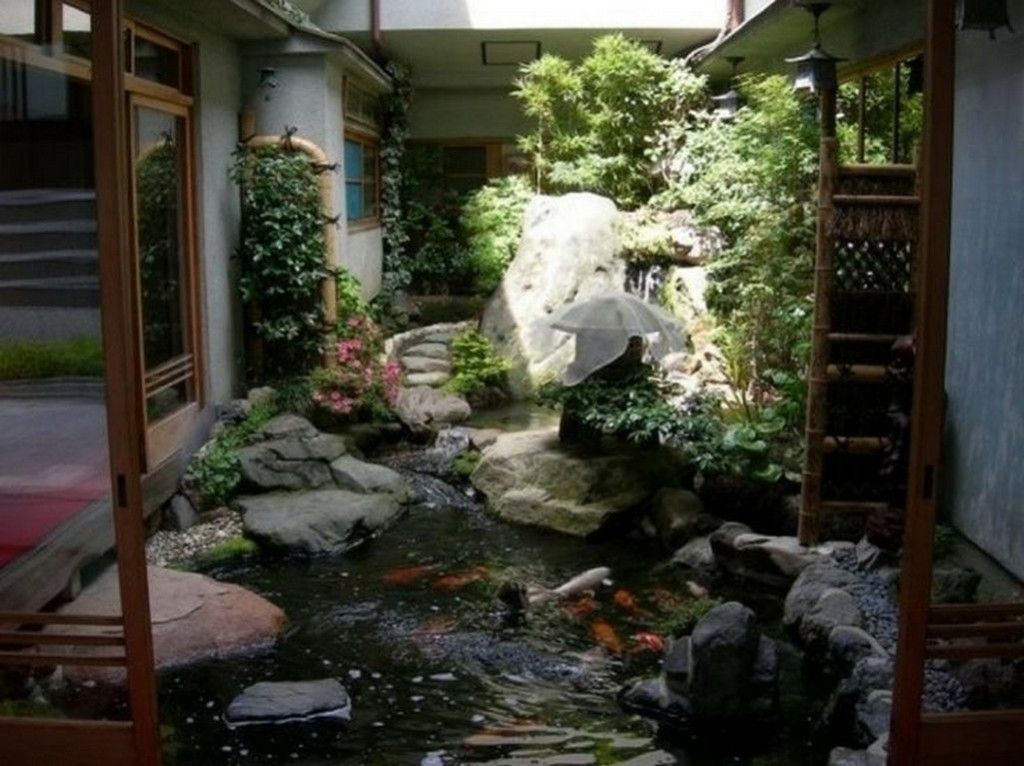 Modern Fish Pond Ideas