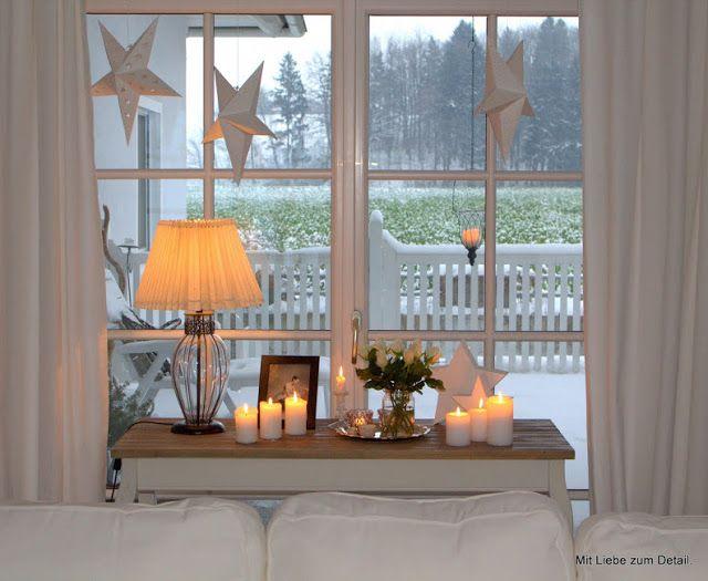 Eine reise durch den advent weihnachten fensterbank for Wohnung dekorieren winter