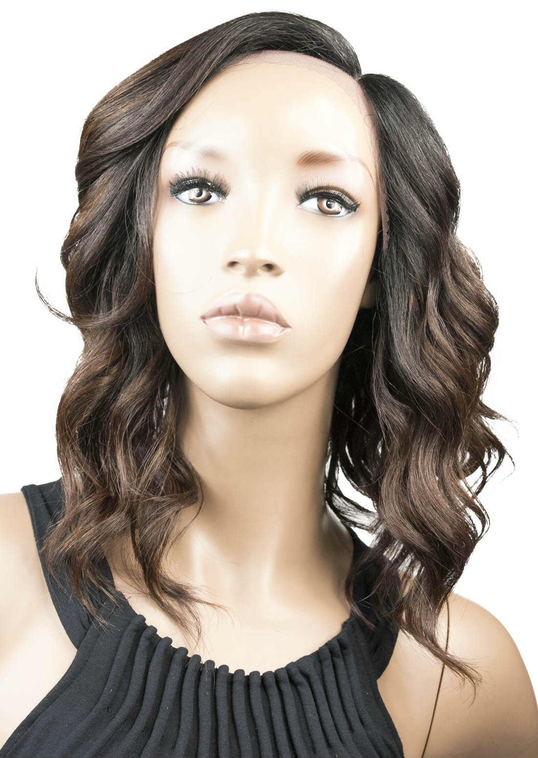 Model Model Deep Invisible LPart Lace Front Wig Bubble