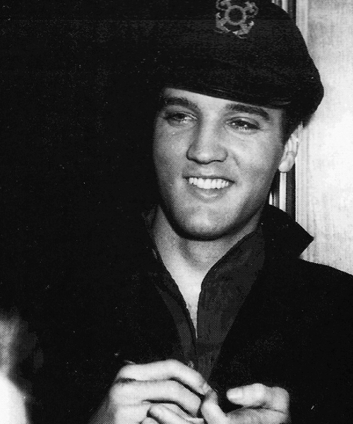 Elvis wearing a sailor hat? Yes please! :)